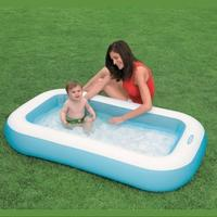 Бассейн 166*100*28 см Rectangular Baby Pool  Intex 57403NP